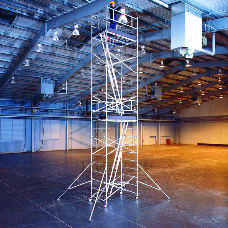 Top Quality Single Aluminum Mobile Scaffolding for Sale