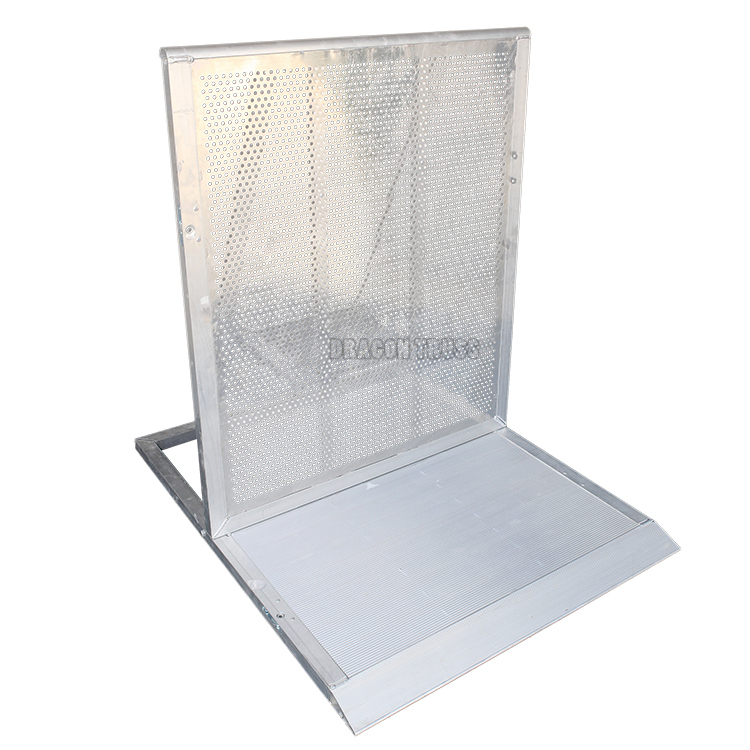 Folding Aluminum Concert Crowd Control Barrier