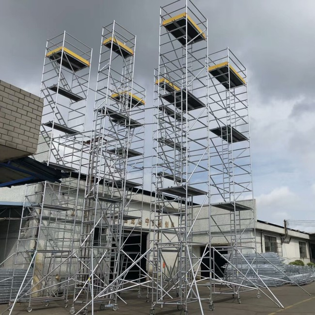 How to choose aluminum scaffolding
