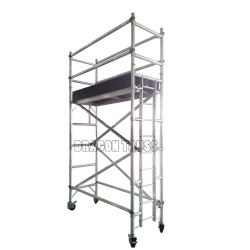 top quality durable aluminum mobile scaffolding for sale
