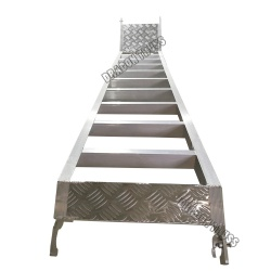 45° aluminum plate alloy ladder