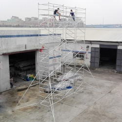 Economic and Reliable Durable Mobile Scaffold Aluminum