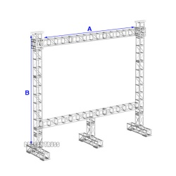 good quality led screen trussing stand