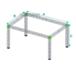 Newest aluminium heavy duty truss system