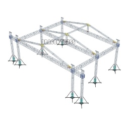new fashion high quality heavy duty stage truss design