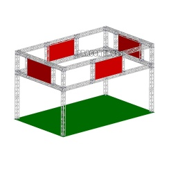 hot exhibition display truss for concert