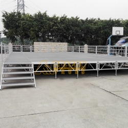 indoor outdoor portable aluminum event stage platform for sale